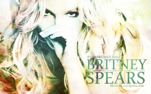 britney spears wallpaper 2011 femme fatale  - by bhworks - bhworks.wordpress.com @ all rights reserved V